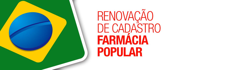 Orientação às farmácias que não realizaram a renovação no Programa Farmácia Popular do Brasil – Aqui Tem Farmácia Popular.